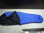 My extraordinary sleeping bag, complete with zip