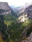 Vikos Gorge - 1000 metres deep in places